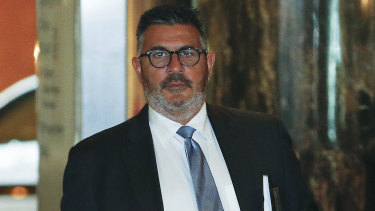 Pressure is building on high-profile director Andrew Demetriou (pictured) and Crown Resorts' chief executive Ken Barton to resign.