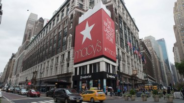 Macy's shares are roaring higher but smaller retailers are feeling the pain.