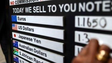 Where to exchange euros in sydney