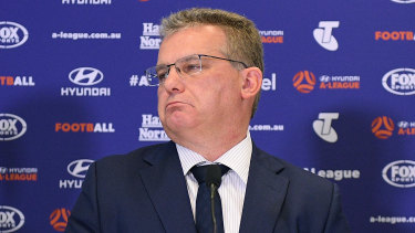 Chris Nikou will have to survive a vote at Thursday's AGM to retain his place as FFA chairman.