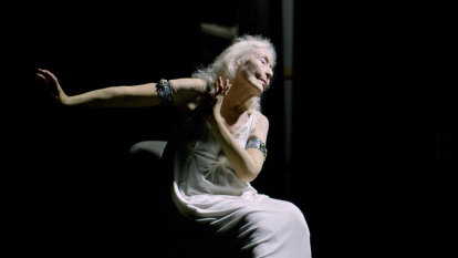 105 and a half, but age doesn't matter as much as the spirit, says dancer Eileen Kramer