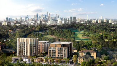 Five apartment buildings are now planned for Eastlakes Live after the latest revision to the developer's plans.