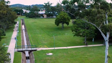 Hanlon Park will regain an original watercourse with an old concrete drain to be removed.