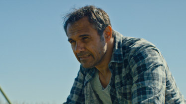 Aaron Pedersen stars in Out of Range, part of SBS's inaugural Short Film Festival.