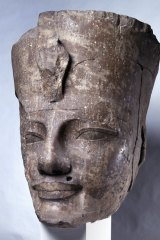 Amenhotep III with Red Crown.