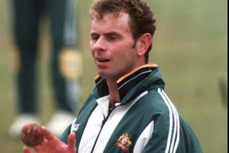 Paul Reiffel was the centre of attention a quarter of a century ago when he was elevated from Australia A to the national side only to carry the drinks.