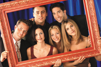Friends' complete series is available on Netflix.