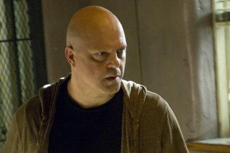 Michael Chiklis as Vic Mackey in <i>The Shield</i>.