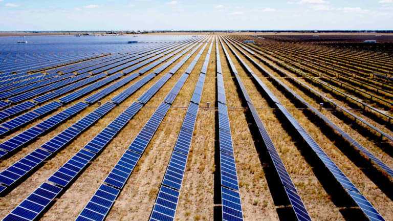 Moree solar farm: a lot of these are in the NSW planning pipeline.
