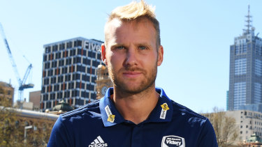 Swedish striker Ola Toivonen is one of a host of big signings for Melbourne Victory.