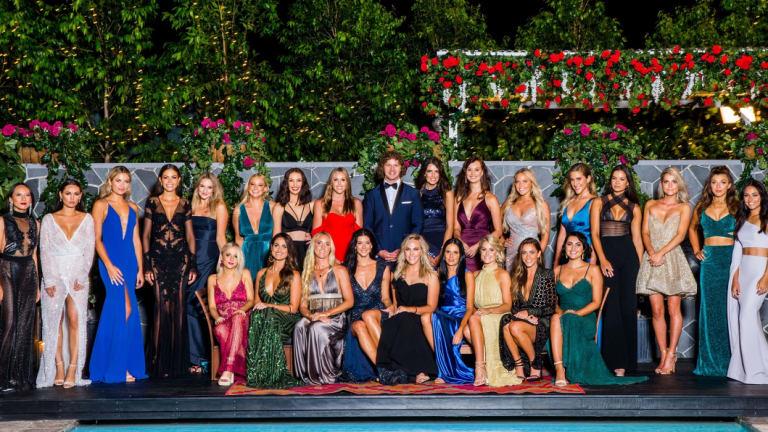 The cast of 'The Bachelor' season six.