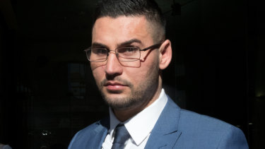 Salim Mehajer outside court in June 2018.