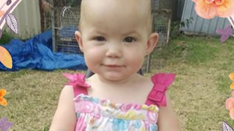 Kamillah Jones, one, was killed when she was attacked by a rottweiler in Inverell in northern NSW.