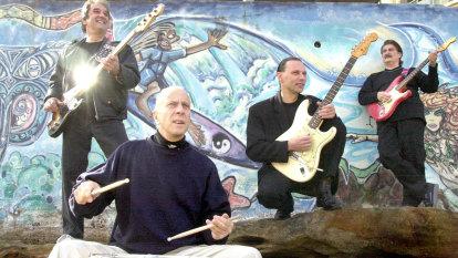 Peter Hood: Drummer with The Atlantics on international hit 'Bombora'
