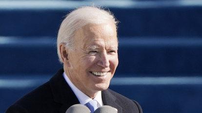 'This is democracy's day': Biden sworn in as US President