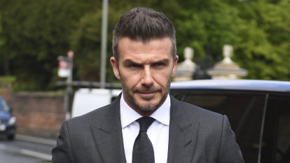 Hands off, David: Beckham's six-month driving ban for using his phone