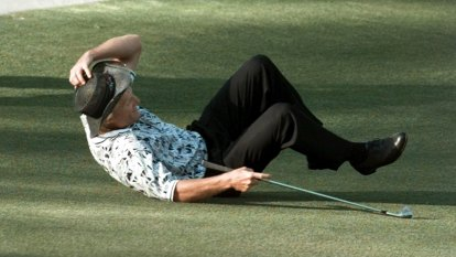 Greg Norman's 'incredible' Masters resilience