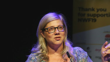 Rosemarie Milsom, takes the Newcastle Writers' Festival online.
