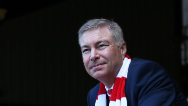 Sydney Swans chairman Andrew Pridham said only 20 per cent of the funds Moelis manages were from foreign investors.