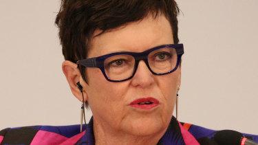 Former NZ PM Jenny Shipley.