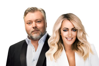 KIIS 1065's Kyle and Jackie O took the lead in the latest radio ratings.