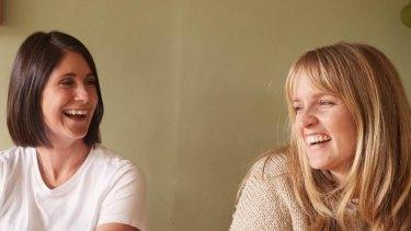 Biz Cranston (left) and Laura Brading (right) of Wellread.