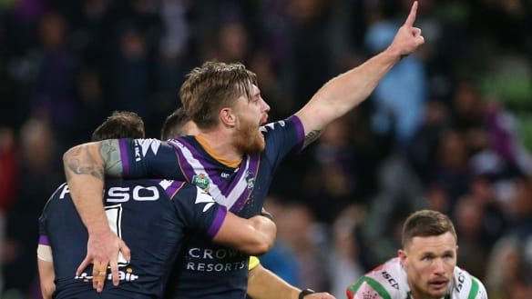 'He wants to stay': Storm confident they'll keep Munster from Roosters