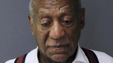 Bill Cosby's mug shot from Montgomery County Correctional Facility, where he is currently being held in quasi-isolation.