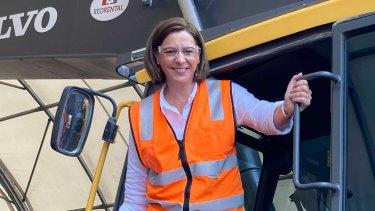 LNP Leader Deb Frecklington visits REO Heavy Equipment Repairs in Rockhampton this afternoon.