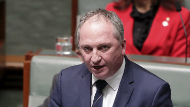 Barnaby Joyce wants to return to the leadership of the Nationals and his former position as Deputy Prime Minister.