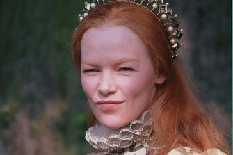 In the award-winning '70s television series Elizabeth R.