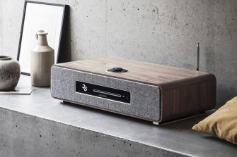 The Ruark R5 is a streaming device, network player, CD drive, radio, amp and speakers all in one.
