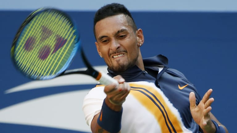Nick Kyrgios has been involved in another incident with an umpire.