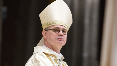 "Melbourne Archbishop Peter Comensoli lamented there was ""less and less understanding of people of faith""."