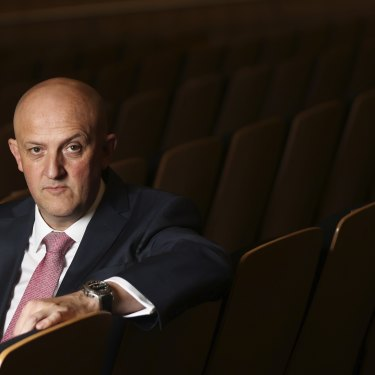 Out of the shadows: the director-general of ASIO Mike Burgess delivered his second annual threat assessment on Wednesday night.