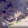 Seven Hills factory complex goes up in flames