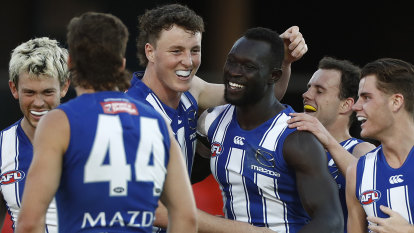A Majak day as North Melbourne snap losing streak against insipid Crows