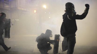 'We want revenge': Violent demonstrations signal a fractured left