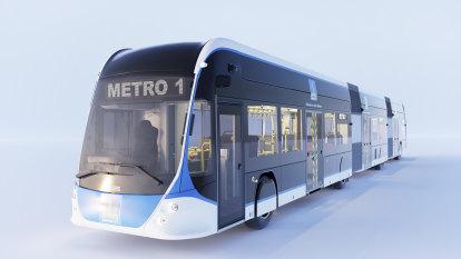Final Brisbane Metro vehicle design revealed ahead of 2022 pilot launch