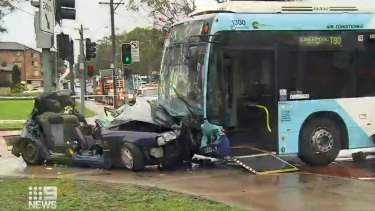 A woman is in a critical condition and a teenage girl is still in hospital after a horror crash in southwest Sydney.