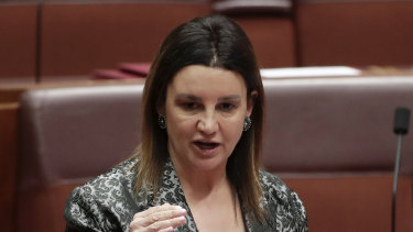 Senator Jacqui Lambie says she is willing to reconsider her support for the Morrison government's union-busting bill.