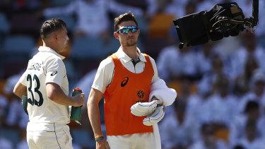 Cricket 2019: Australia v Pakistan first Test   Marnus ...