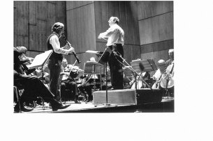 Clarinettist Donald Westlake on the Sydney Symphony Orchestra European Tour in 1974.
