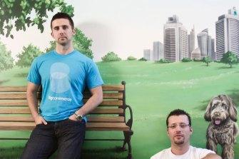 BigCommerce founders Mitchell Harper (left) and Eddie Machaalani started the platform in 2009.