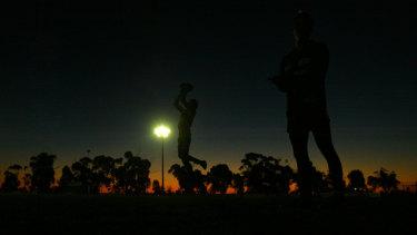 Tongala Football Club Thursday night training