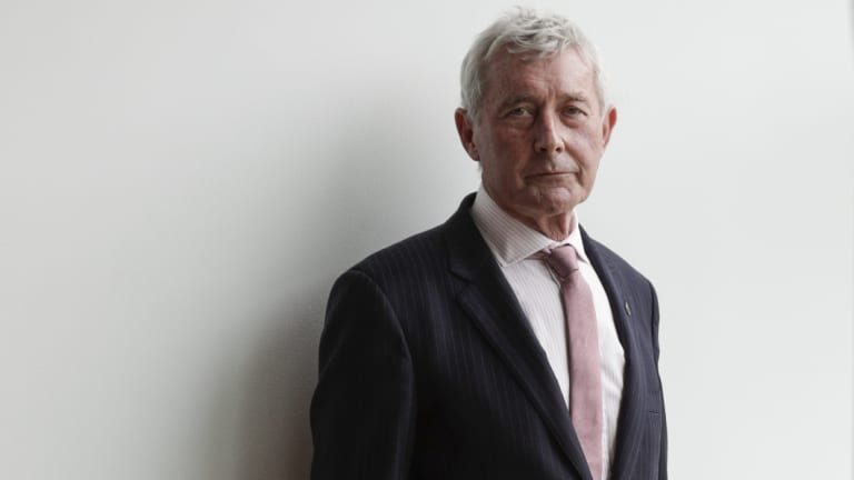 Bernard Collaery, the lawyer involved in the East Timor spy scandal.