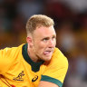 Superboot Hodge shifted to fullback for Wallabies, O'Connor returns