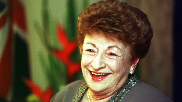 Marjorie Jackson, after being appointed         Governor of South Australia in 2001.
