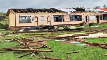 Homes and schools in Fiji have been damaged by tropical cyclone Yasa.