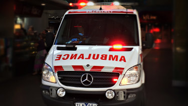 A patient with serious spinal injuries was left waiting outside Sunshine Hospital in an ambulance for 14 hours.